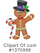 Gingerbread Man Clipart #1370996
