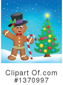 Gingerbread Man Clipart #1370997