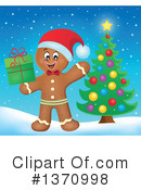 Gingerbread Man Clipart #1370998