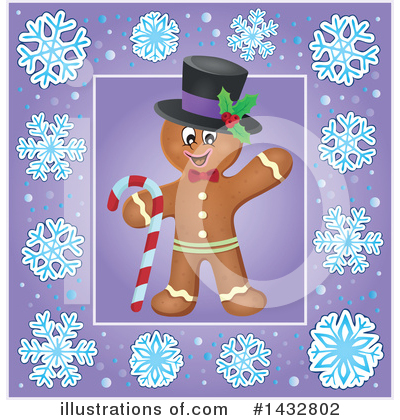 Gingerbread Man Clipart #1432802 by visekart