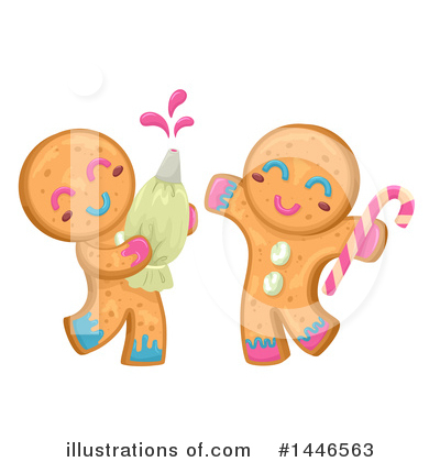 Gingerbread Clipart #1446563 by BNP Design Studio
