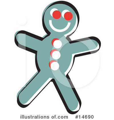 Gingerbread Clipart #14690 by Andy Nortnik