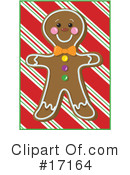 Gingerbread Man Clipart #17164