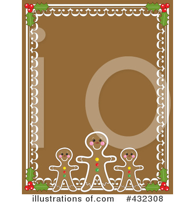 Gingerbread Clipart #432308 by Maria Bell