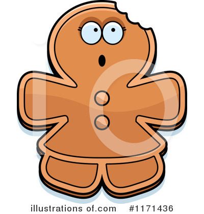 Gingerbread Woman Clipart #1171436 by Cory Thoman