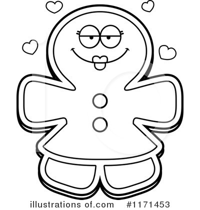 Gingerbread Woman Clipart #1171453 by Cory Thoman