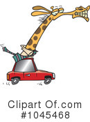 Giraffe Clipart #1045468 by toonaday