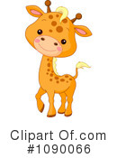 Royalty-Free (RF) Giraffe Clipart Illustration #1090066