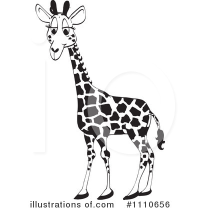 Royalty-Free (RF) Giraffe Clipart Illustration #1110656 by Dennis ...