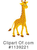 Royalty-Free (RF) Giraffe Clipart Illustration #1139221