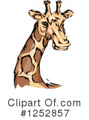 Royalty-Free (RF) Giraffe Clipart Illustration #1252857