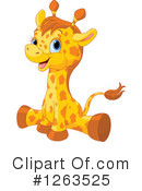 Royalty-Free (RF) Giraffe Clipart Illustration #1263525