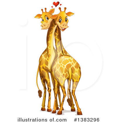 Giraffe Clipart #1383296 by Graphics RF