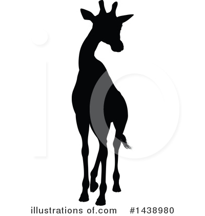 Giraffe Clipart #1438980 by AtStockIllustration