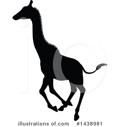 Giraffe Clipart #1438981 by AtStockIllustration