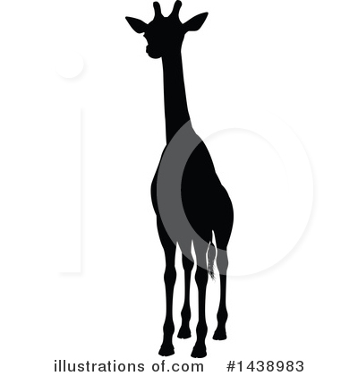 Giraffe Clipart #1438983 by AtStockIllustration