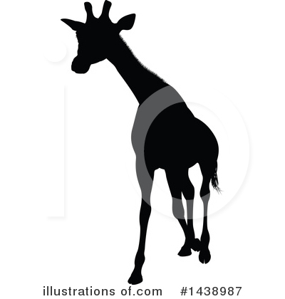 Giraffe Clipart #1438987 by AtStockIllustration