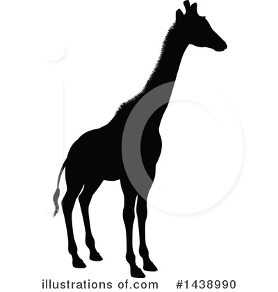 Giraffe Clipart #1438990 by AtStockIllustration