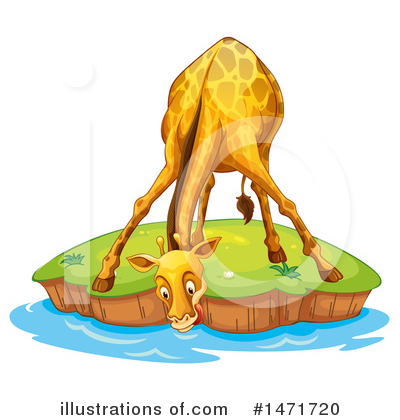 Royalty-Free (RF) Giraffe Clipart Illustration by Graphics RF - Stock Sample #1471720