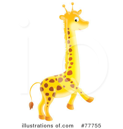 Giraffe Clipart #77755 by Alex Bannykh