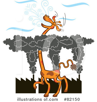 Royalty-Free (RF) Giraffe Clipart Illustration by Zooco - Stock Sample #82150