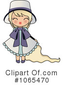 Royalty-Free (RF) girl Clipart Illustration #1065470