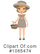 Royalty-Free (RF) Girl Clipart Illustration #1065474