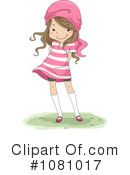 Royalty-Free (RF) Girl Clipart Illustration #1081017