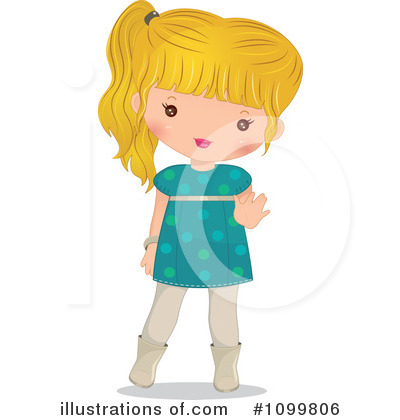Girl Clipart #1099806 by Melisende Vector