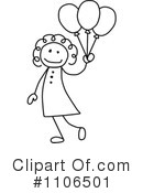 Girl Clipart #1106501 by C Charley-Franzwa