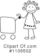 Girl Clipart #1106502 by C Charley-Franzwa