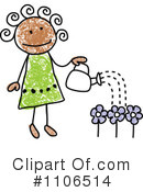 Girl Clipart #1106514 by C Charley-Franzwa