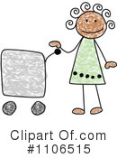 Girl Clipart #1106515 by C Charley-Franzwa