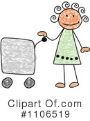 Girl Clipart #1106519 by C Charley-Franzwa