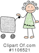 Girl Clipart #1106521 by C Charley-Franzwa