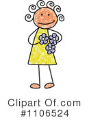 Girl Clipart #1106524 by C Charley-Franzwa