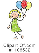 Girl Clipart #1106532 by C Charley-Franzwa