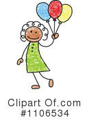 Girl Clipart #1106534 by C Charley-Franzwa