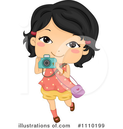 Royalty-Free (RF) Girl Clipart Illustration by BNP Design Studio - Stock Sample #1110199