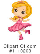 Royalty-Free (RF) Girl Clipart Illustration #1110203