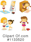 Girl Clipart #1133520 by Graphics RF