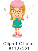 Royalty-Free (RF) Girl Clipart Illustration #1137961