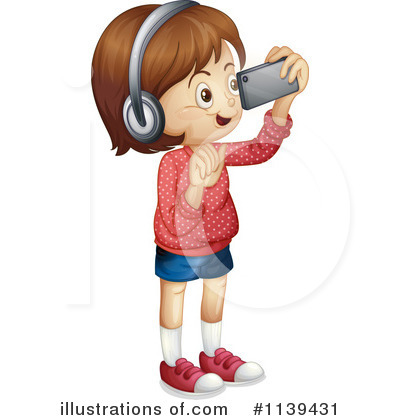 Headphones Clipart #1139431 by Graphics RF