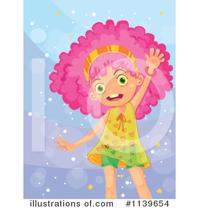 Royalty-Free (RF) Girl Clipart Illustration by Graphics RF - Stock Sample #1139654