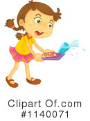 Girl Clipart #1140071 by Graphics RF