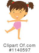 Royalty-Free (RF) girl Clipart Illustration #1140597