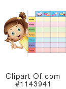 Girl Clipart #1143941 by Graphics RF