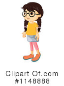 Royalty-Free (RF) Girl Clipart Illustration #1148888