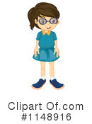 Royalty-Free (RF) Girl Clipart Illustration #1148916