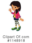Royalty-Free (RF) Girl Clipart Illustration #1148918